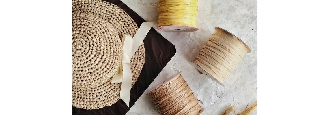 Рафия для вязания купить - ISPIE wellmay