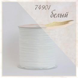 Цвет - Белый (74901), Пряжа рафия для вязания ISPIE  250 м.