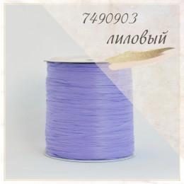 Цвет - Лиловый (7490903), Пряжа рафия ISPIE  250 м.