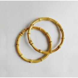 Ручки бамбуковые D=15 см. круглые