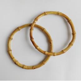 Ручки бамбуковые D=17 см. круглые