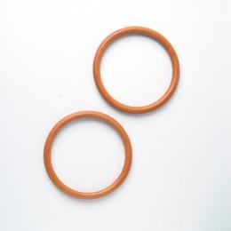 Ручки круглые D=14 см., цвет - Светло-коричневый