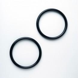 Ручки круглые D=14 см., цвет - Черный