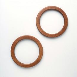 Ручки круглые плоские D=13.5 см., цвет - Винтаж