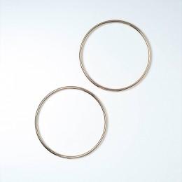 Ручки-кольца металл, d=13.5 см., Золото